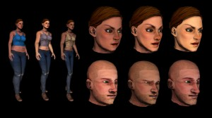 New Character System Face and Body Morphing